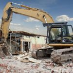 épületek bontása